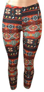 Baslco Red Leggings