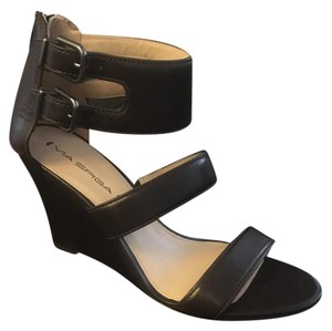 Via Spiga Dark brown Wedges