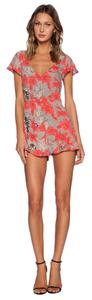 For Love & Lemons Floral Romper Dress