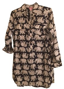 Lilly Pulitzer Captiva Elephant Tunic