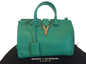 6463dcf83a Green Saint Laurent Bags - Up to 90% off at Tradesy