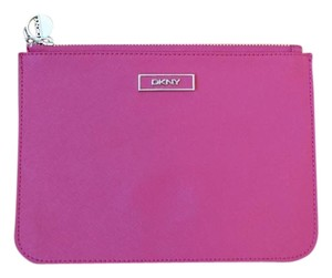 DKNY Leather pink Clutch