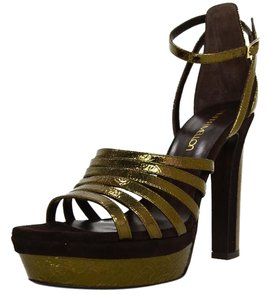 Tamara Mellon Bronze Sandals