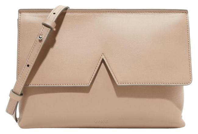 Vince Signature Collection In Nude Leather Cross Body Bag Vince Signature Collection In Nude Leather Cross Body Bag Image 1