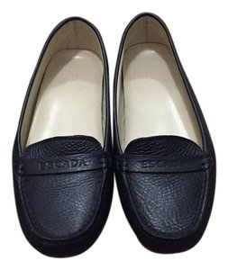 Escada Dark blue Flats