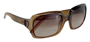 Saint Laurent Light Brown Rectangle Sunglasses