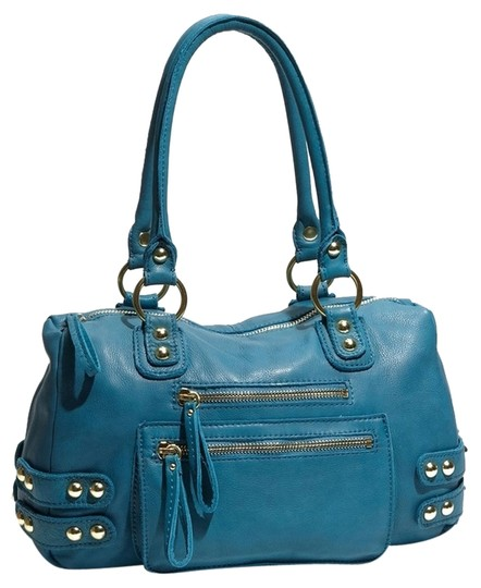 Preload https://item4.tradesy.com/images/linea-pelle-dylan-satchel-turquoise-1849463-0-0.jpg?width=440&height=440