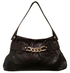 Via Spiga Chain Satchel Handbag Hobo Shoulder Bag