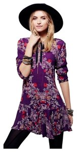 Free People short dress Plumberry Color (Purple, Pink) on Tradesy