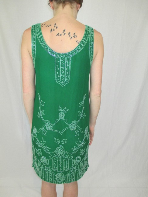 Neiman Marcus By Eavis & Brown London Highfashion Embellished Dress
