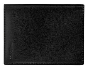 Coach Coach Calf Leather Bi-Fold Passport Wallet Case Black F93451 NWT