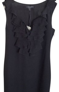 Banana Republic Silk Ruffle Dress