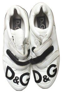 Dolce&Gabbana D&g Leather Sneakers White Athletic