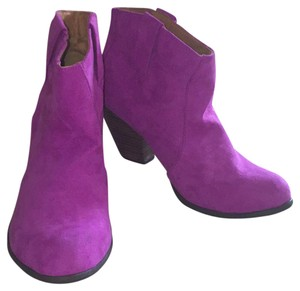Charlotte Russe Magenta Boots