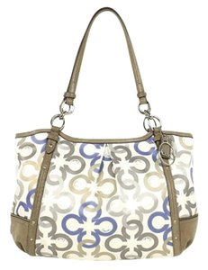 Coach Brown Tote Shoulder Bag