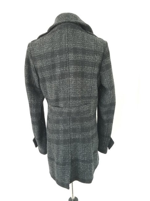 Burberry Wool Fitted Pea Coat