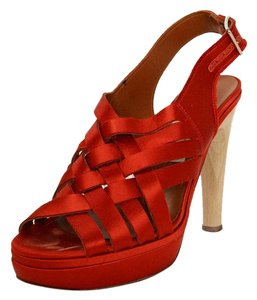 Lanvin Red Sandals