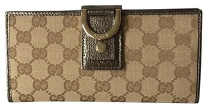 Gucci New Abbey Canvas Wallet 203887