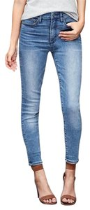 Gap High Rise True Denim Skinny Jeans-Light Wash