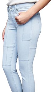 Gap High Rise True Skinny Denim New Skinny Jeans-Light Wash