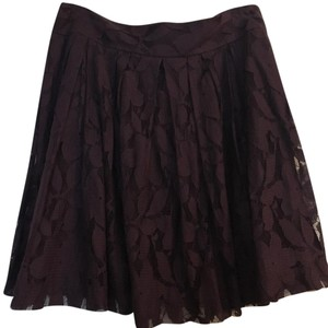 Ann Taylor LOFT Skirt Purple/plum