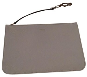 Valextra Cream Clutch