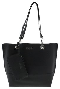 Kenneth Cole Reaction Tote in Black Silver