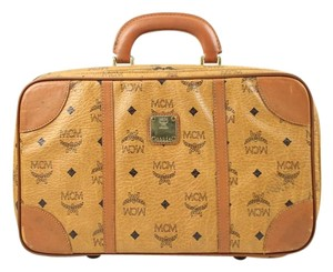 MCM Mustard Travel Bag