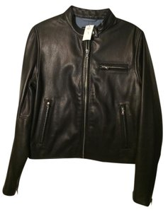 Gap Leather Moto Leather Jacket