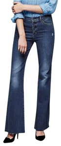 Gap Denim High Rise Flare Leg Jeans