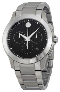 Movado ck Dial Silver Stainless Steel Designer MENS Sport Watch
