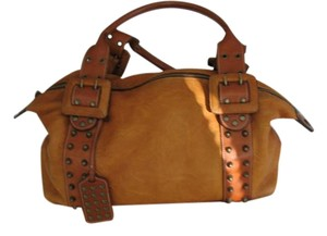Be&D Leather Satchel in Camel