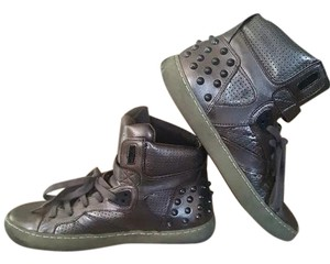 Ash Sneakers Distressed Straps Metallic Athletic