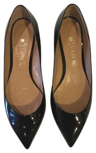 Diana Japan Pointed Toe Flat Black Flats