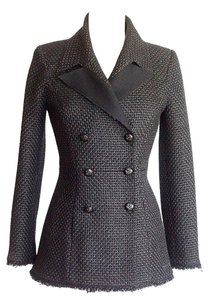 Chanel Black Tweed Jacket