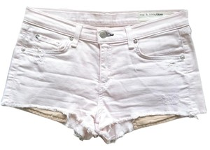Rag & Bone Jean And Cut Off Shorts Pink