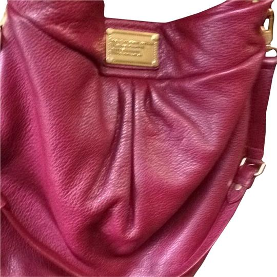 Marc Jacobs Designer Handbag Leather Vintage Luxury Elegant Day Tote Hobo Bag