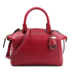 72d5fe208097 Red Leather Michael Kors Satchels - Over 70% off at Tradesy (Page 2)