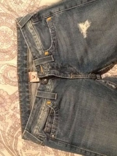 True Religion Nice Hardly Worn Straight Leg Jeans-Medium Wash