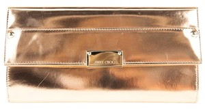 Jimmy Choo Rose Gold Clutch