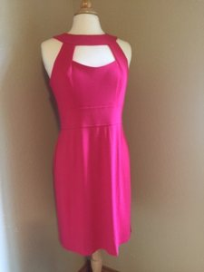 Muse short dress Hot Pink Keyhole Cut-out A-line on Tradesy