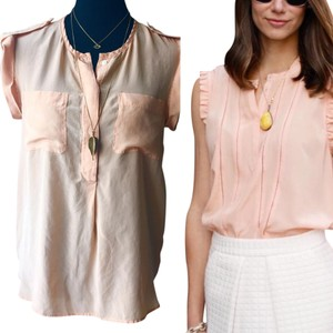 Madewell Top Peach