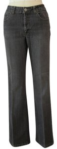 Coldwater Creek Stretchy Casual Cotton Straight Leg Jeans-Light Wash