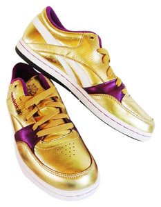 Reebok Trainers Lakers Gold Athletic