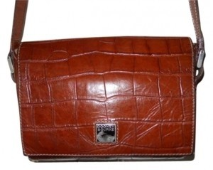 Dooney & Bourke Vintage Leather Baguette