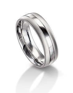 Furrer Jacot Platinum 6mm Men's Wedding Band 71-26280