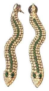 Courtney Lee Sami serpent earrings