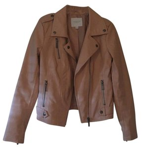 Piperlime beige pink Leather Jacket