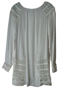 XCVI Below Hips Machine Washable Tunic
