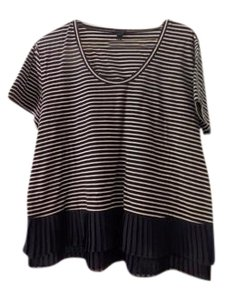 J.Crew T Shirt Navy/White Stripe